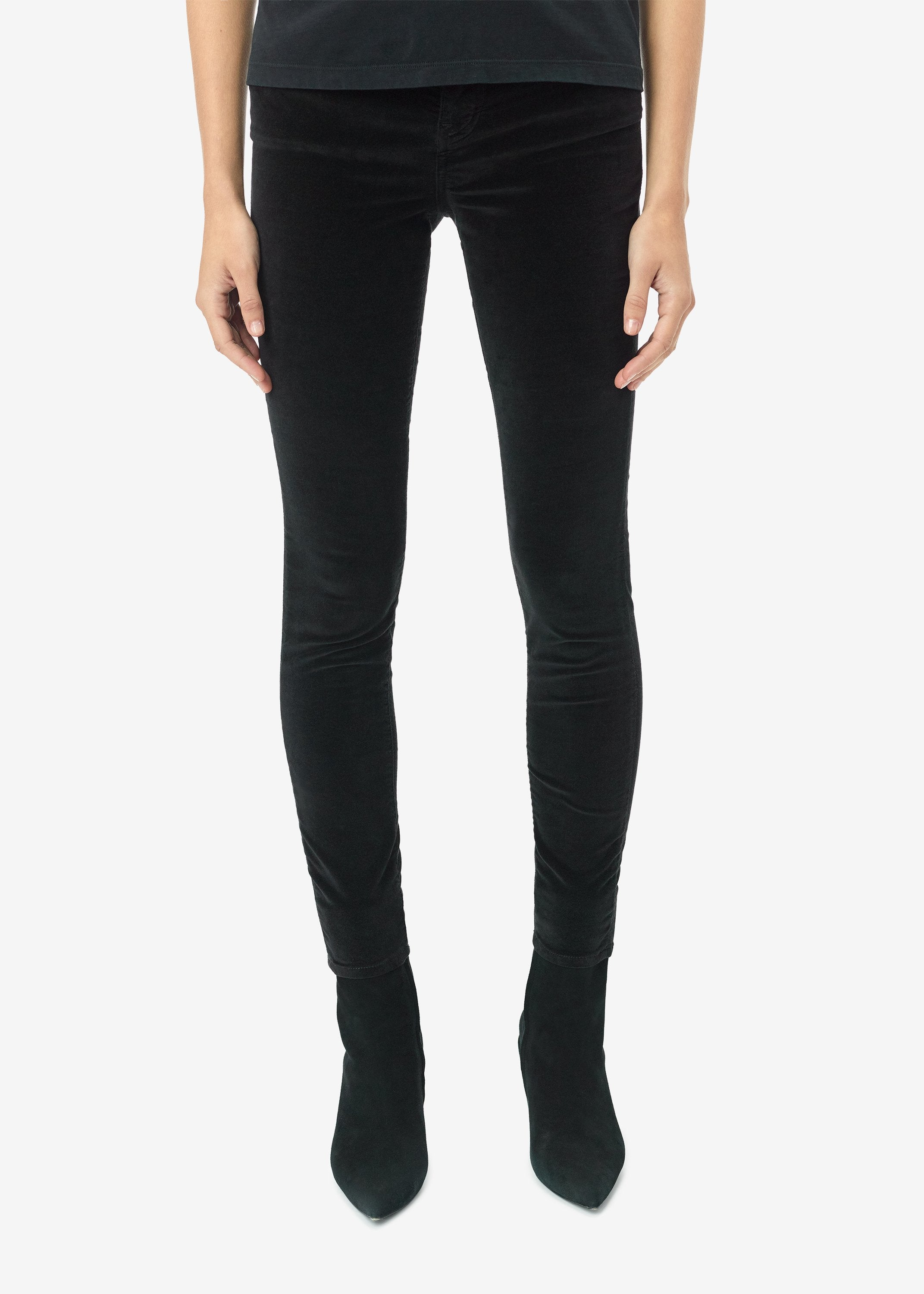 velour-skinny-stack-pants-black-image-1
