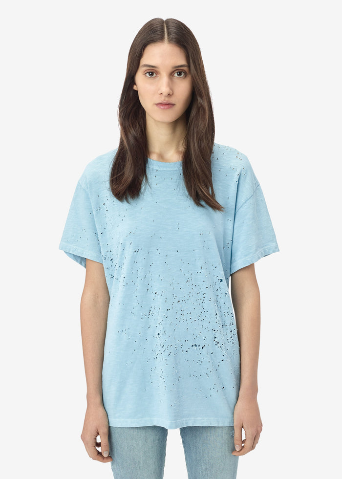 Shotgun Tee - Light Blue