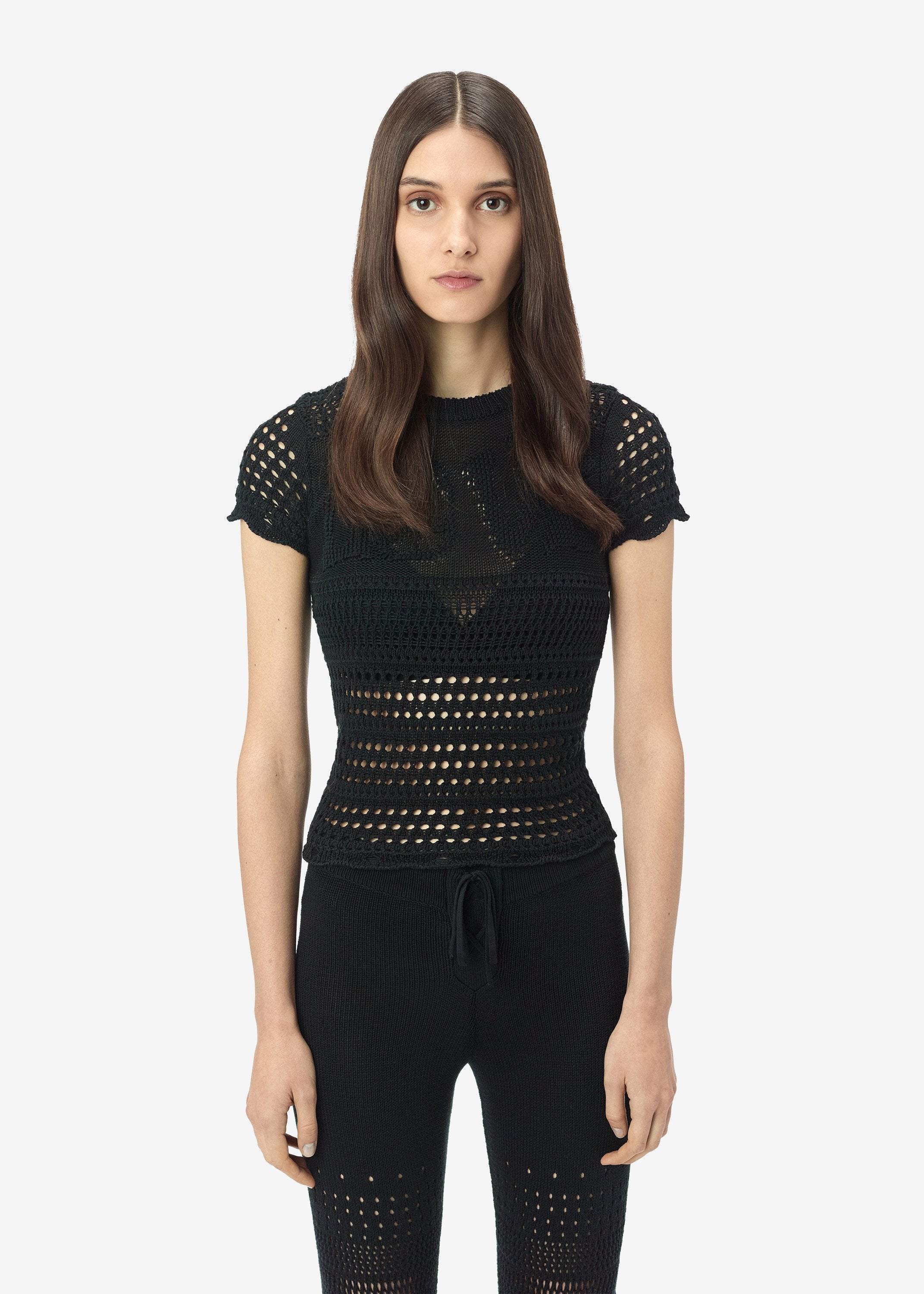 love-crochet-tee-black-image-1
