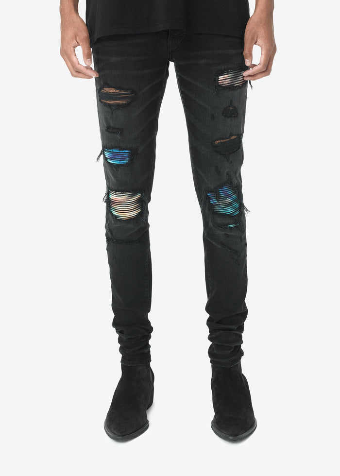 Tie Dye MX1 Jean Web Exclusive - Aged Black