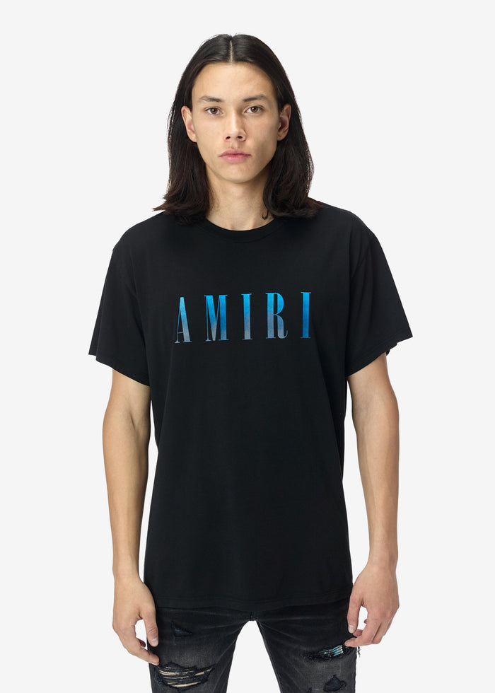 AMIRI Core Tee - Black/Blue