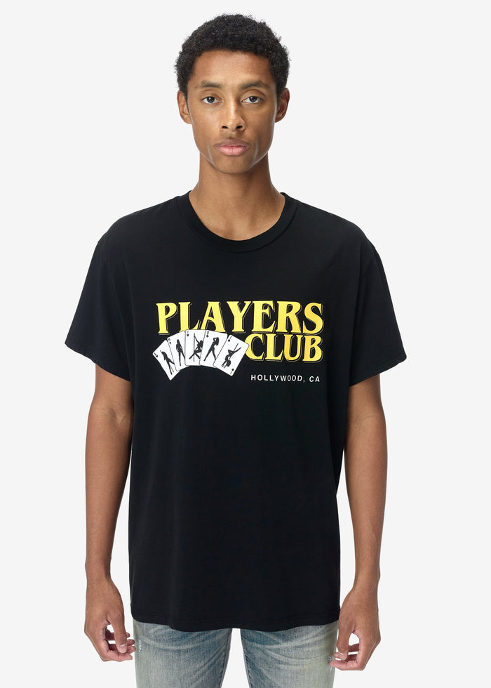 Players Club Tee - Black