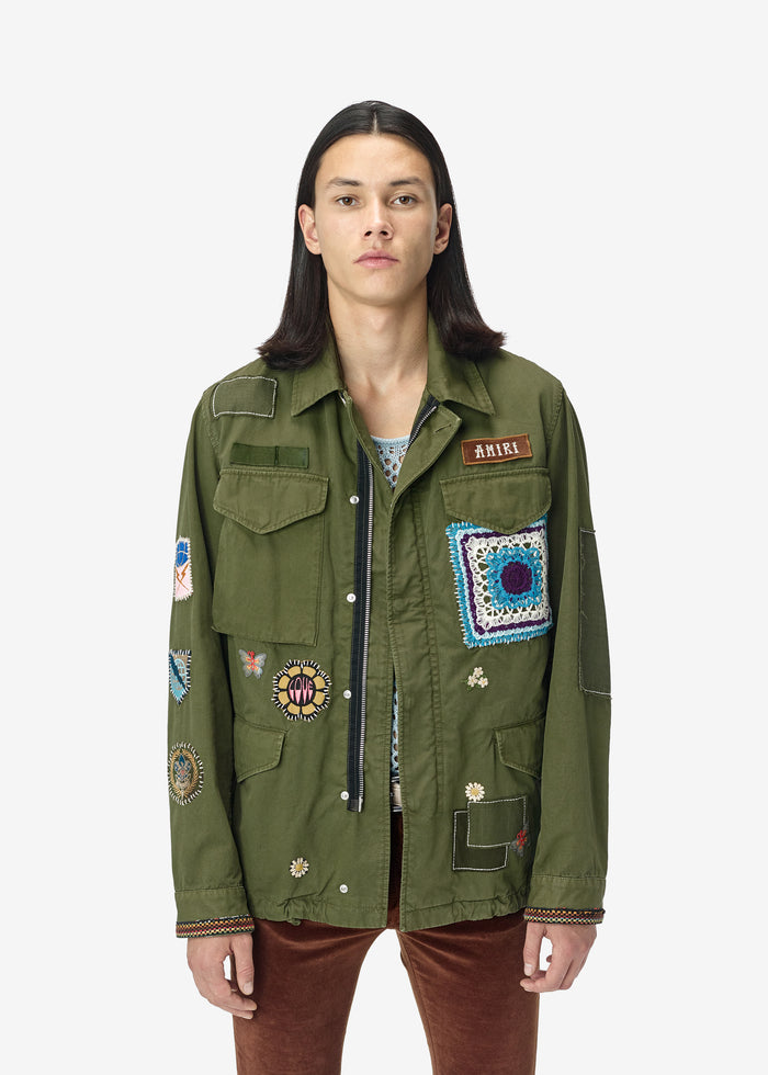 Brothers Military Short Parka - Military Green