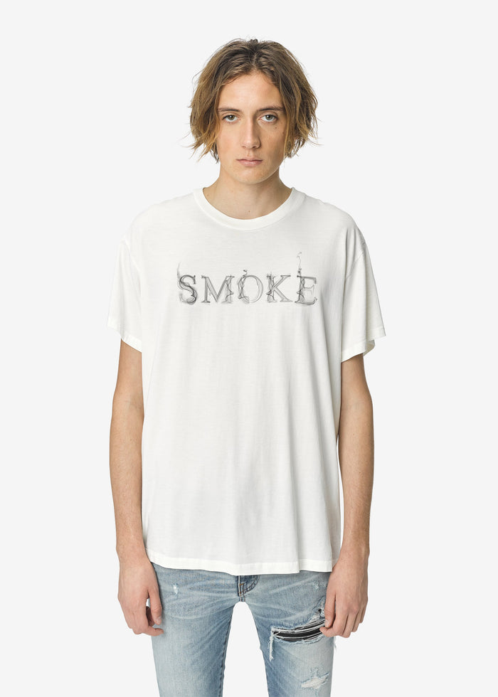 Smoke Tee - Marshmallow