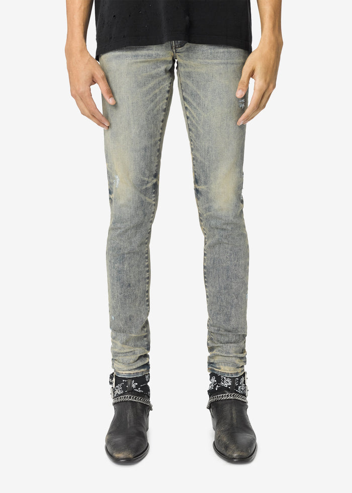 Stack Jean - Dirty Indigo