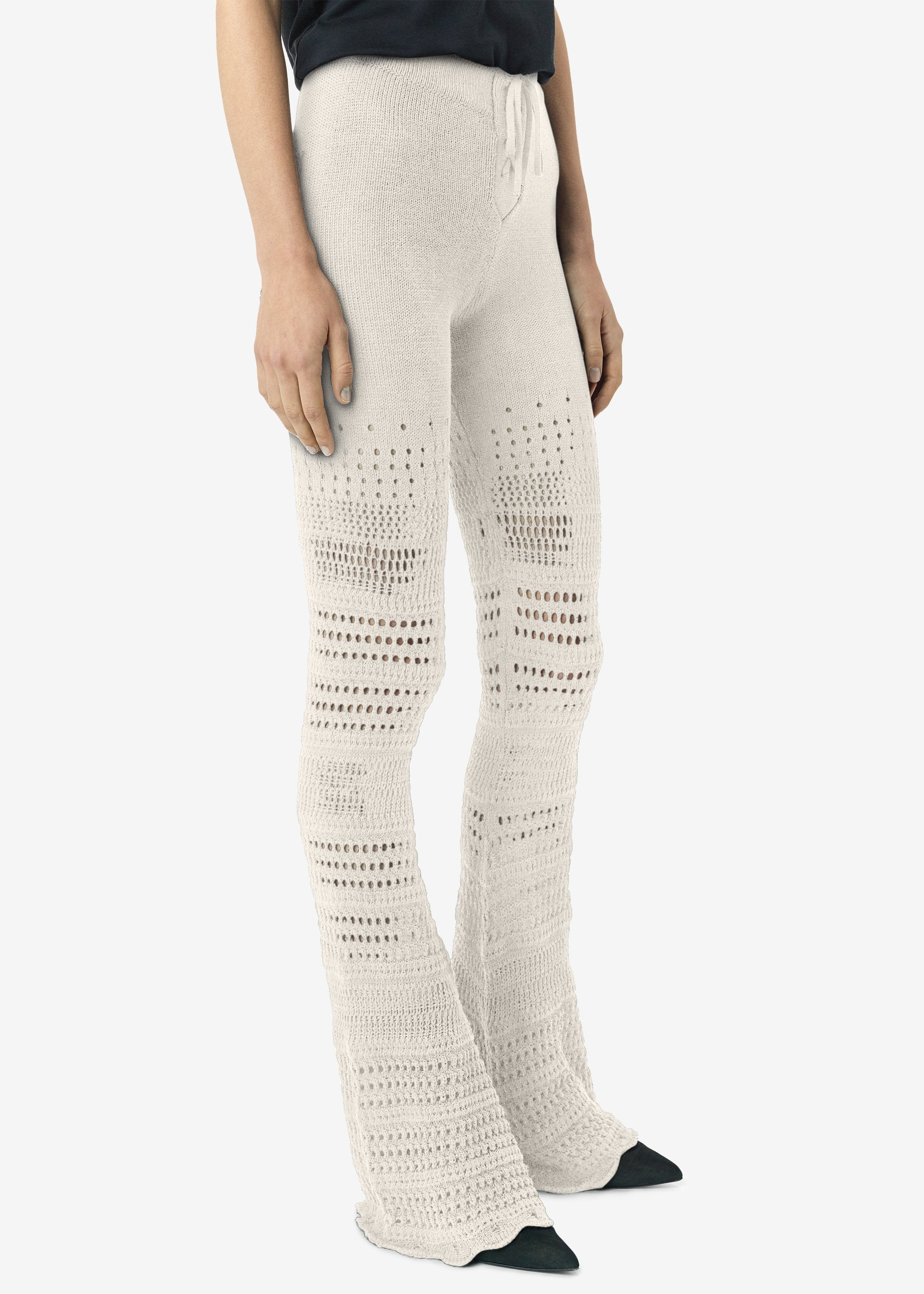 checkered-crochet-flare-pants-ivory-image-2