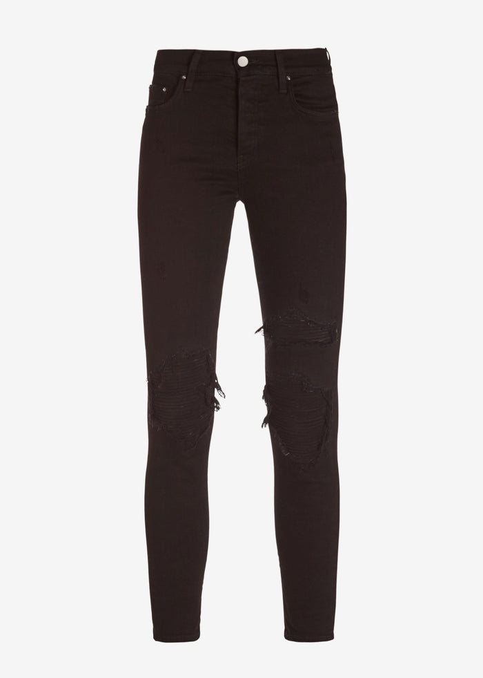 Suede MX1 Jean - Black