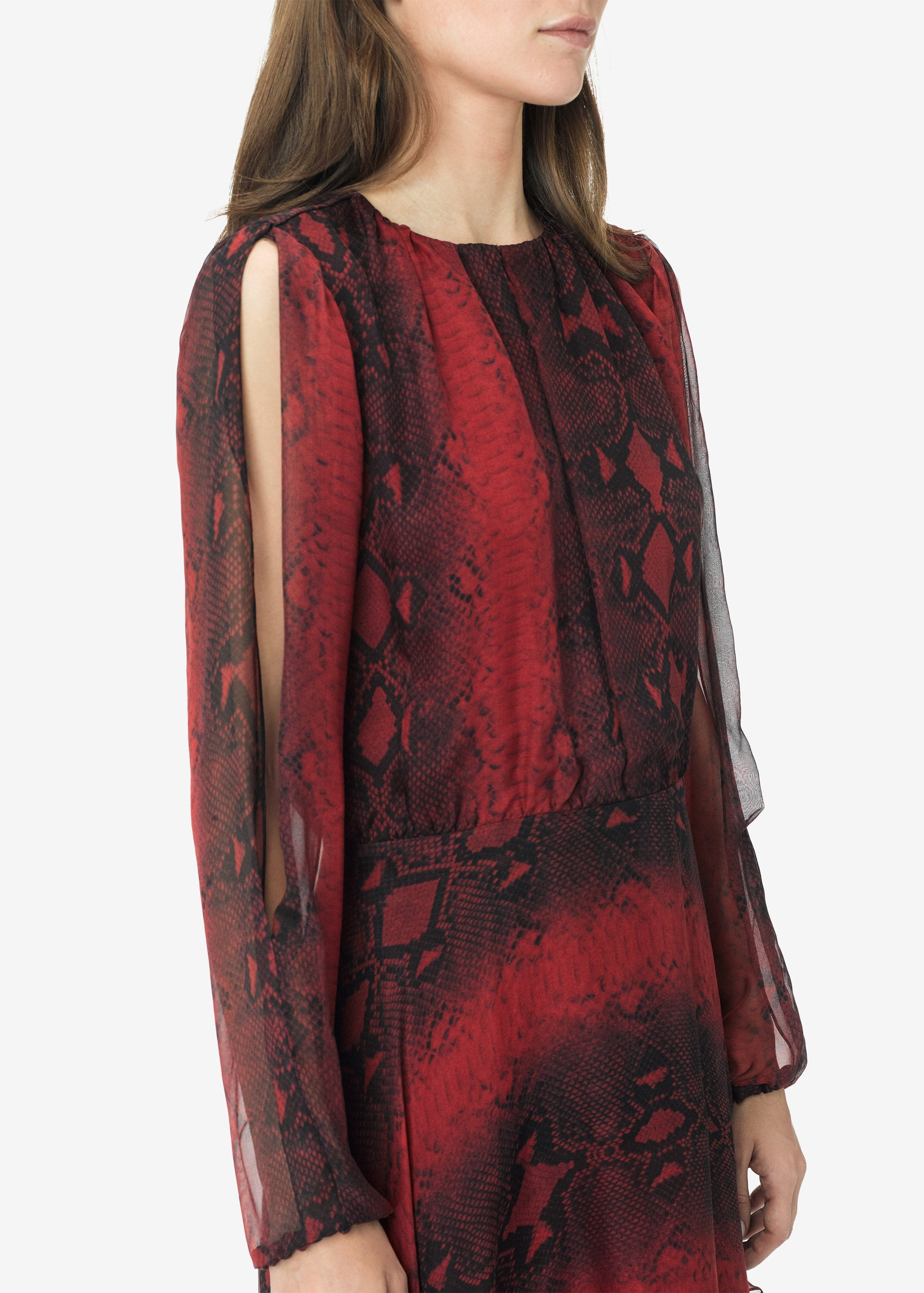 printed-python-assymetric-long-sleeve-dress-burgundy-image-3