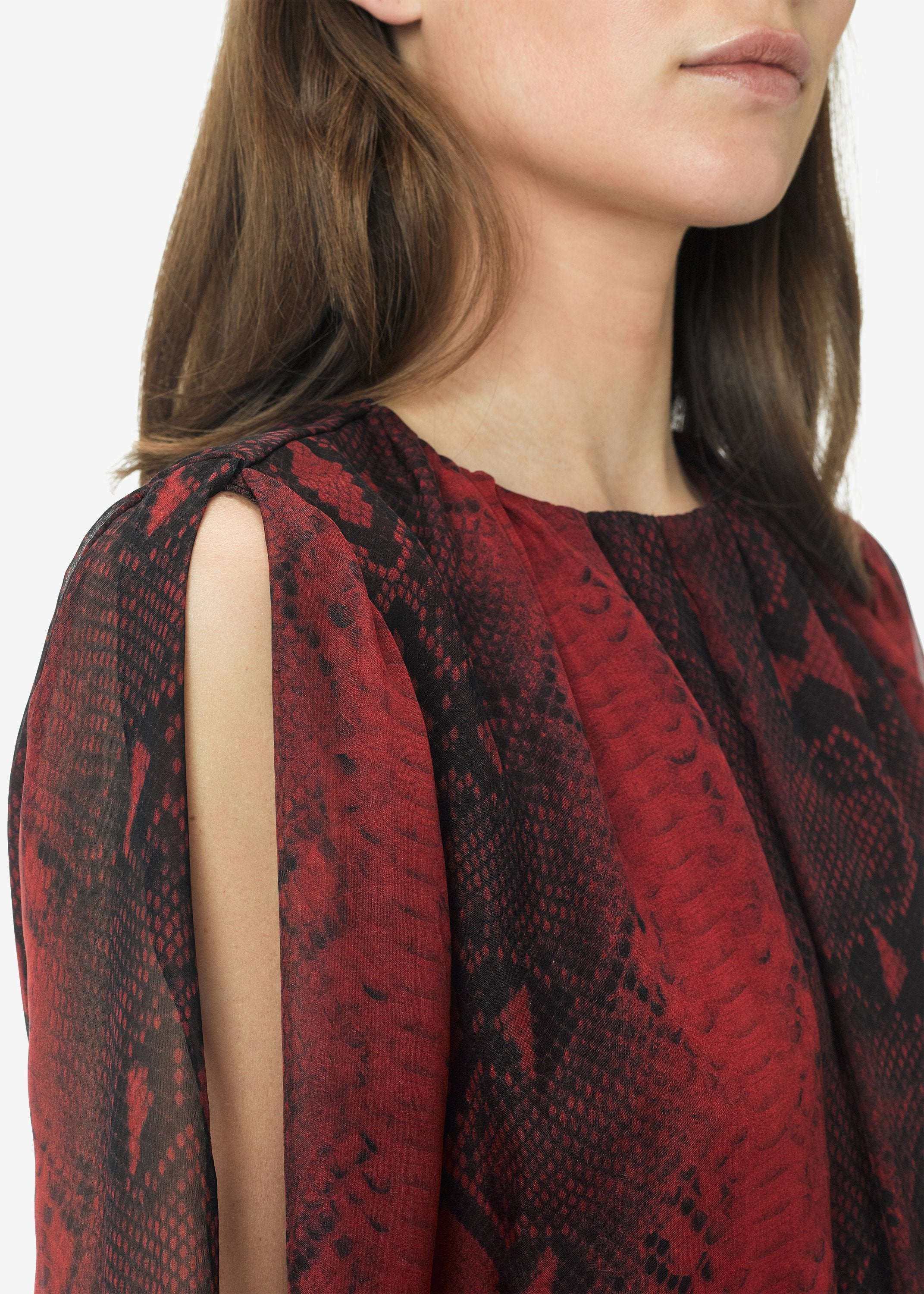 printed-python-assymetric-long-sleeve-dress-burgundy-image-4