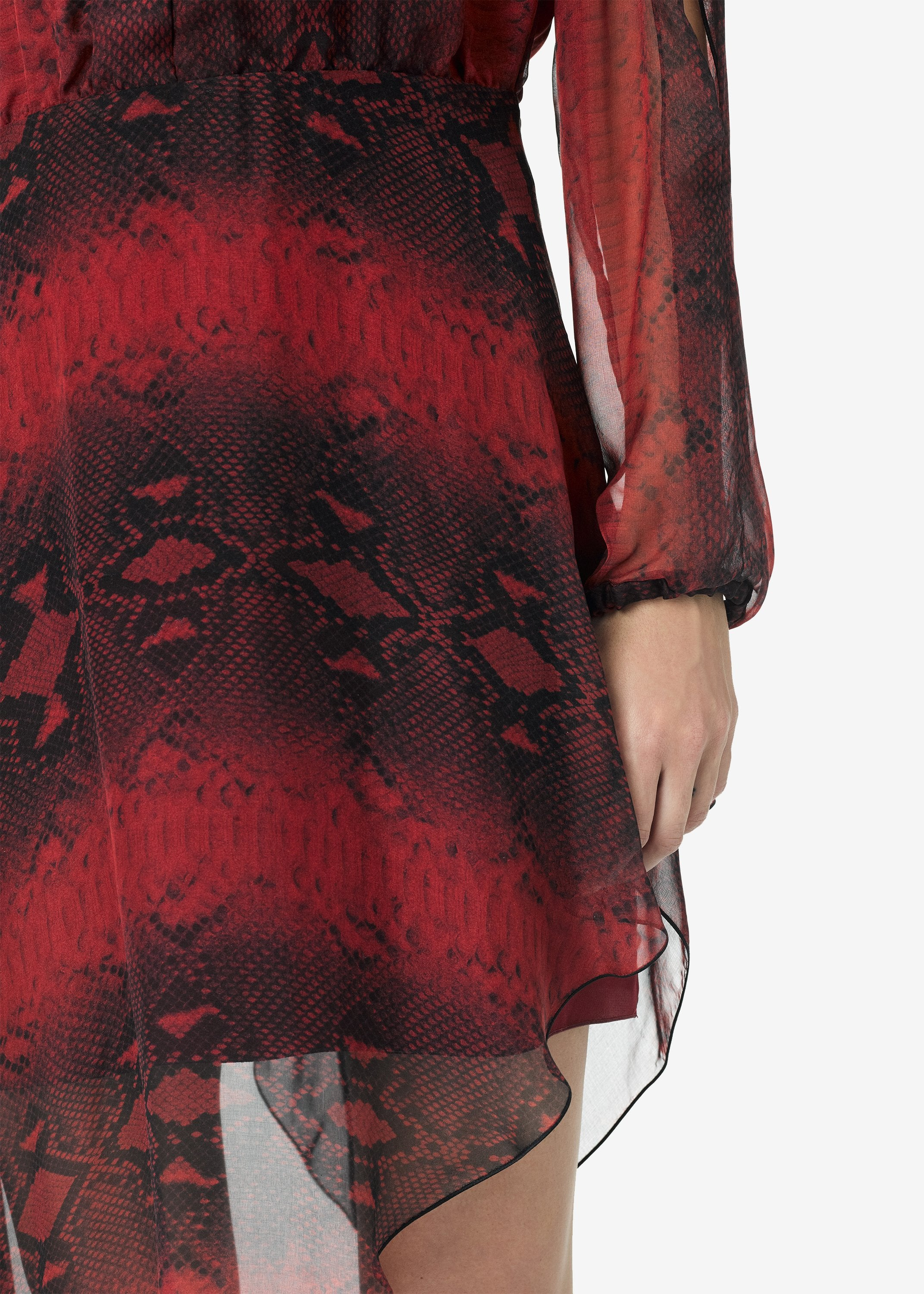 printed-python-assymetric-long-sleeve-dress-burgundy-image-5
