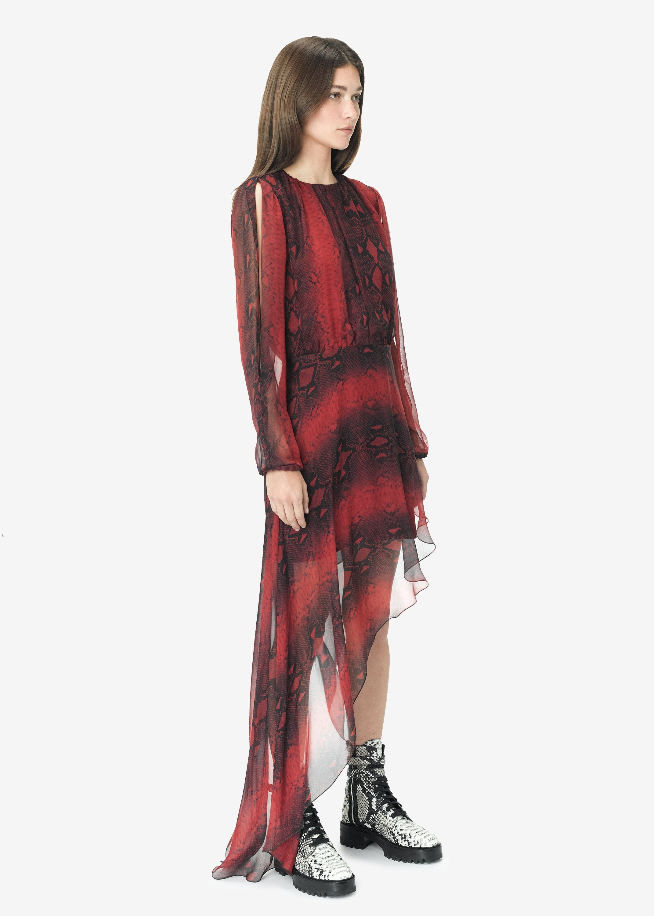 printed-python-assymetric-long-sleeve-dress-burgundy-image-8