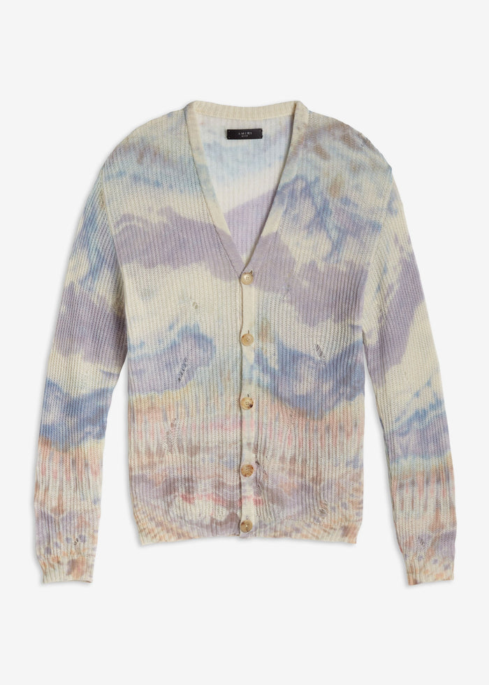 Tie Dye Cardigan - Multi-Color