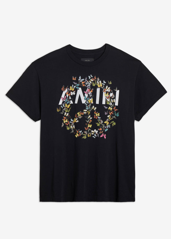 AMIRI Peace Butterfly Tee - Black