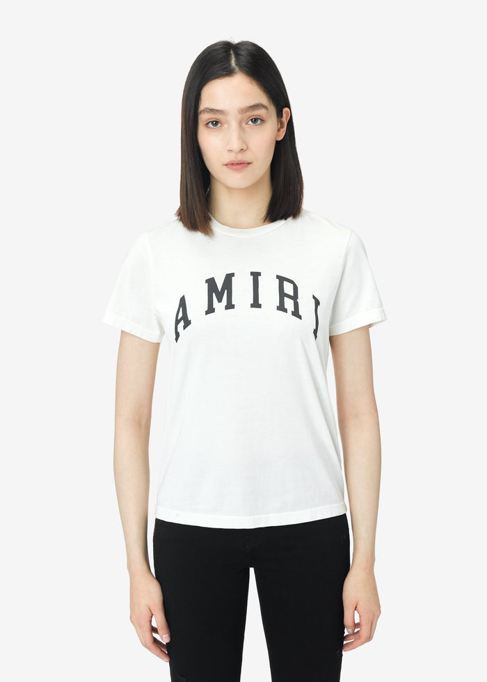 College AMIRI Tee - White