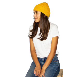 Aries Beanie - Goldfinch