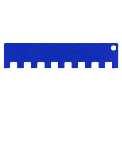 2x2 Machine Knitting Needle Pusher (4.5mm) - Ultra Blue
