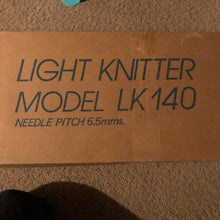 Load image into Gallery viewer, LK 140 Mid-gauge Knitting Machine