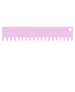 1x1 Machine Knitting Needle Pusher (4.5mm) - Pink Taffy