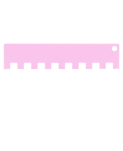 2x2 Machine Knitting Needle Pusher - Pink Taffy