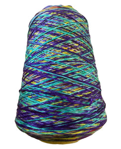 Uneek Self Striping Sock Yarn - 1.1 lb, 1/2 lb Cones or Boxed Kits