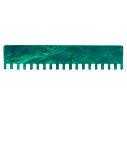 1x1 Machine Knitting Needle Pusher - Waterfall Green