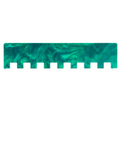 2x2 Machine Knitting Needle Pusher - Waterfall Green