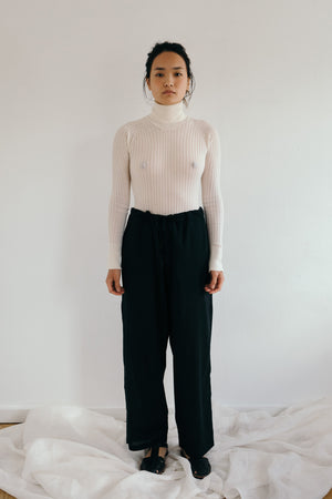Houki Cashmere-blend Turtleneck Bodysuit