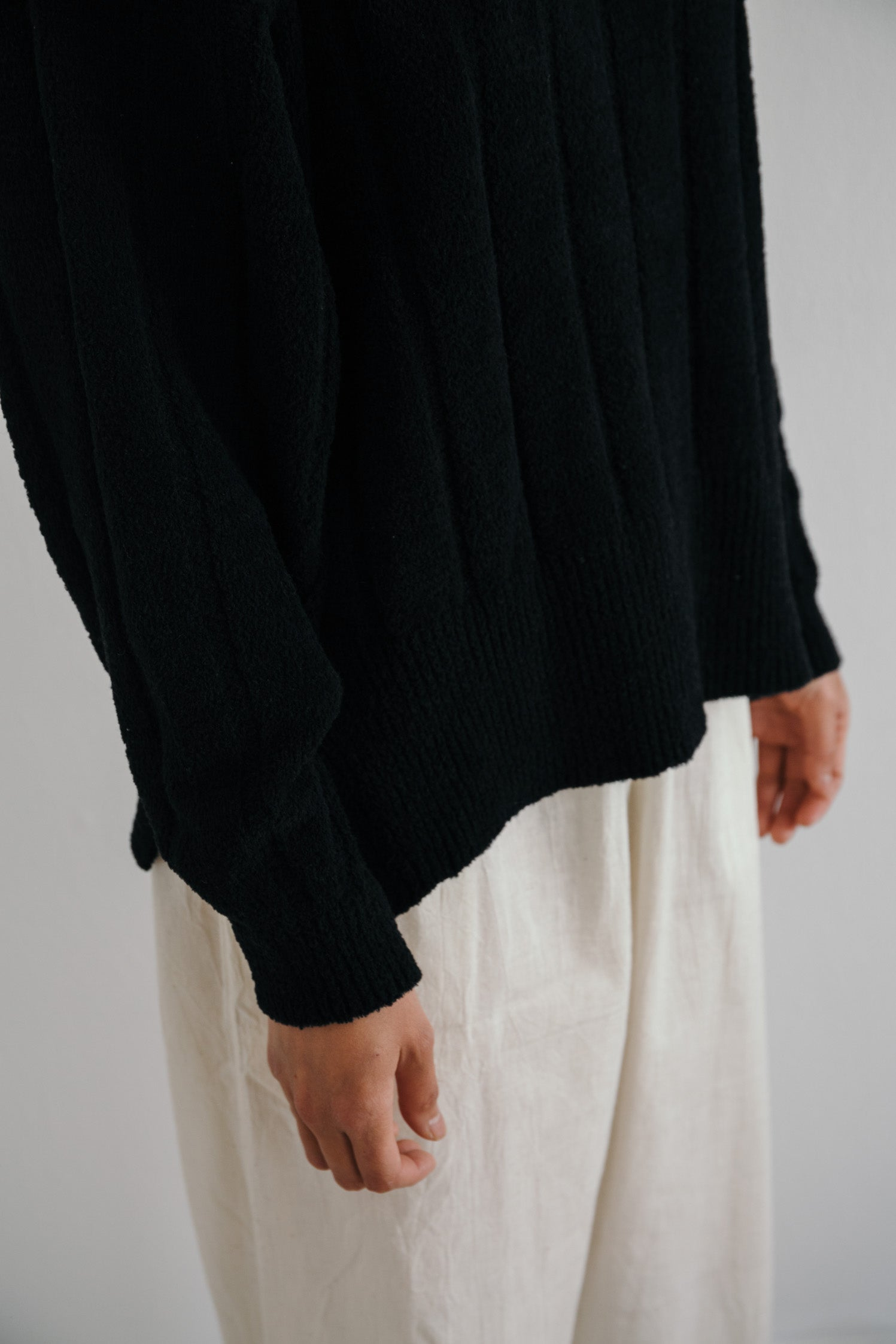 Brume Ribbed Cotton Chenille Sweater