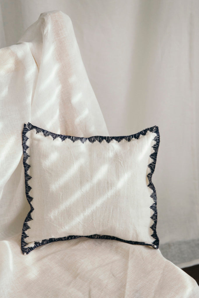Khadi Indigo Small Cushion