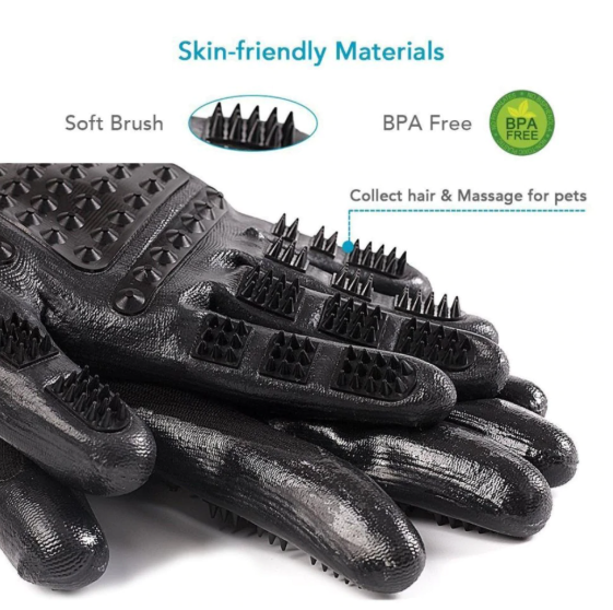 Pet Grooming Gloves - 50% OFF Today