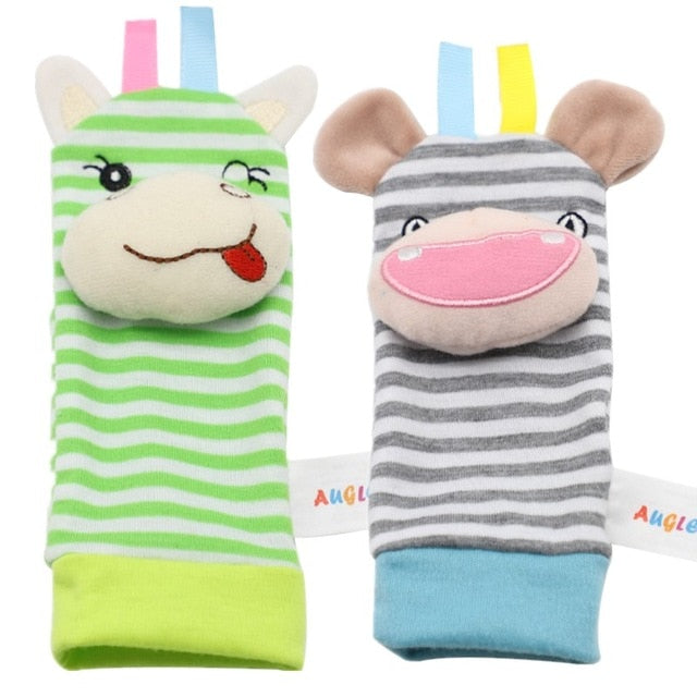 Infant Baby Socks Rattle