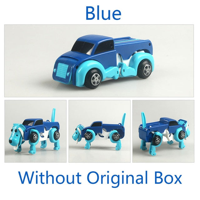 Automatic Transforming Dog Windup Toy