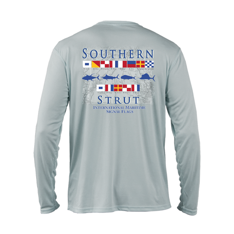 Maritime Flags Performance Shirt