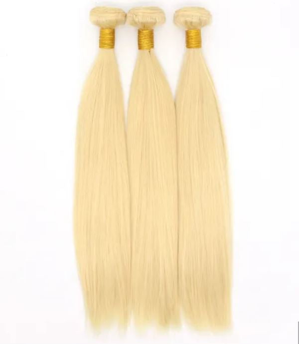 Bundles Blonde Silky Straight