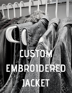 CUSTOM EMBROIDERED JACKET
