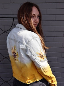 Sunflower Ombre Jacket