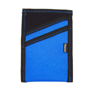 Open Ocean Blue Polyester with Black Neoprene