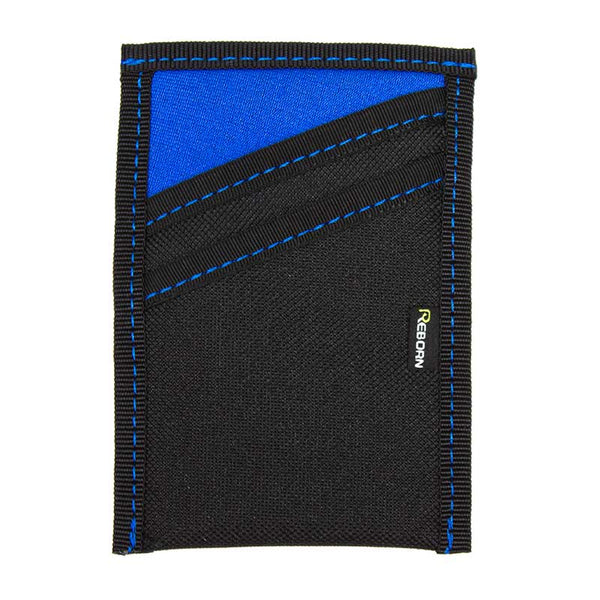 Blue Neoprene with Blue Stitch
