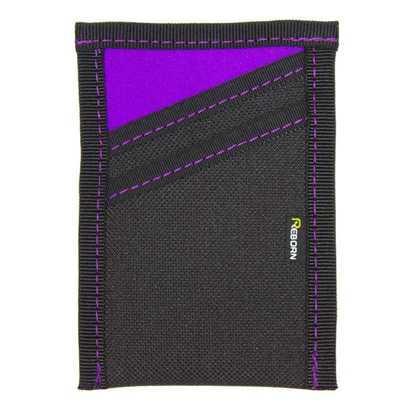 Purple Neoprene with Purple Stitch