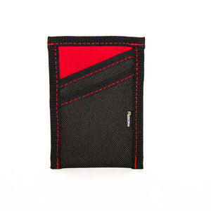 Reborn Wetsuit Wallet - Red with Red Stitch