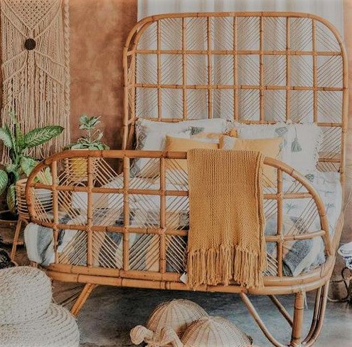 BAMBOO BED (Queen size)