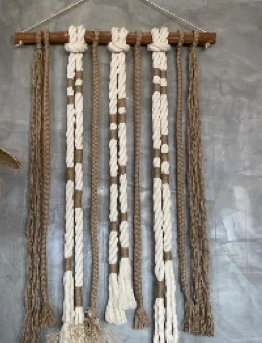 ROPE AND JUTE CURTAIN