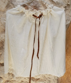 MOROCCAN SHORT WHITE PANTS