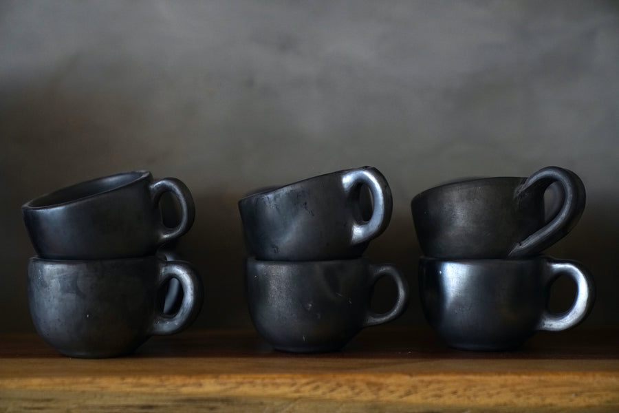 Ceramic Black Cups