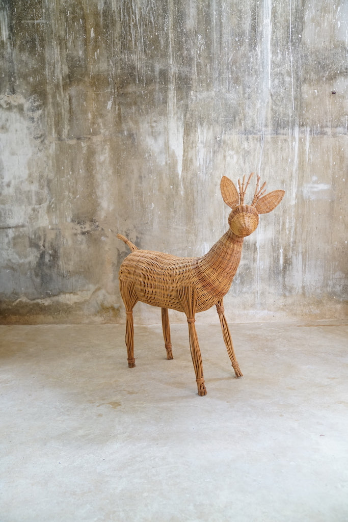 DEER JUTE DECORATION