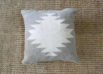 SHAPES WOOL CUSHION (50X50)