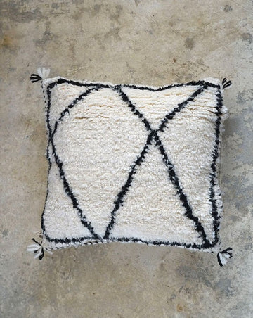 WOOL CUSHION FROM MORROCO (50X50)