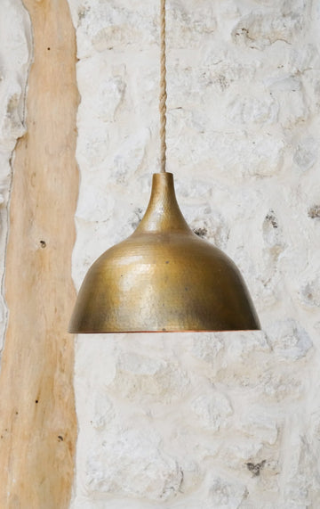 BABY GOLD COPPER LAMP