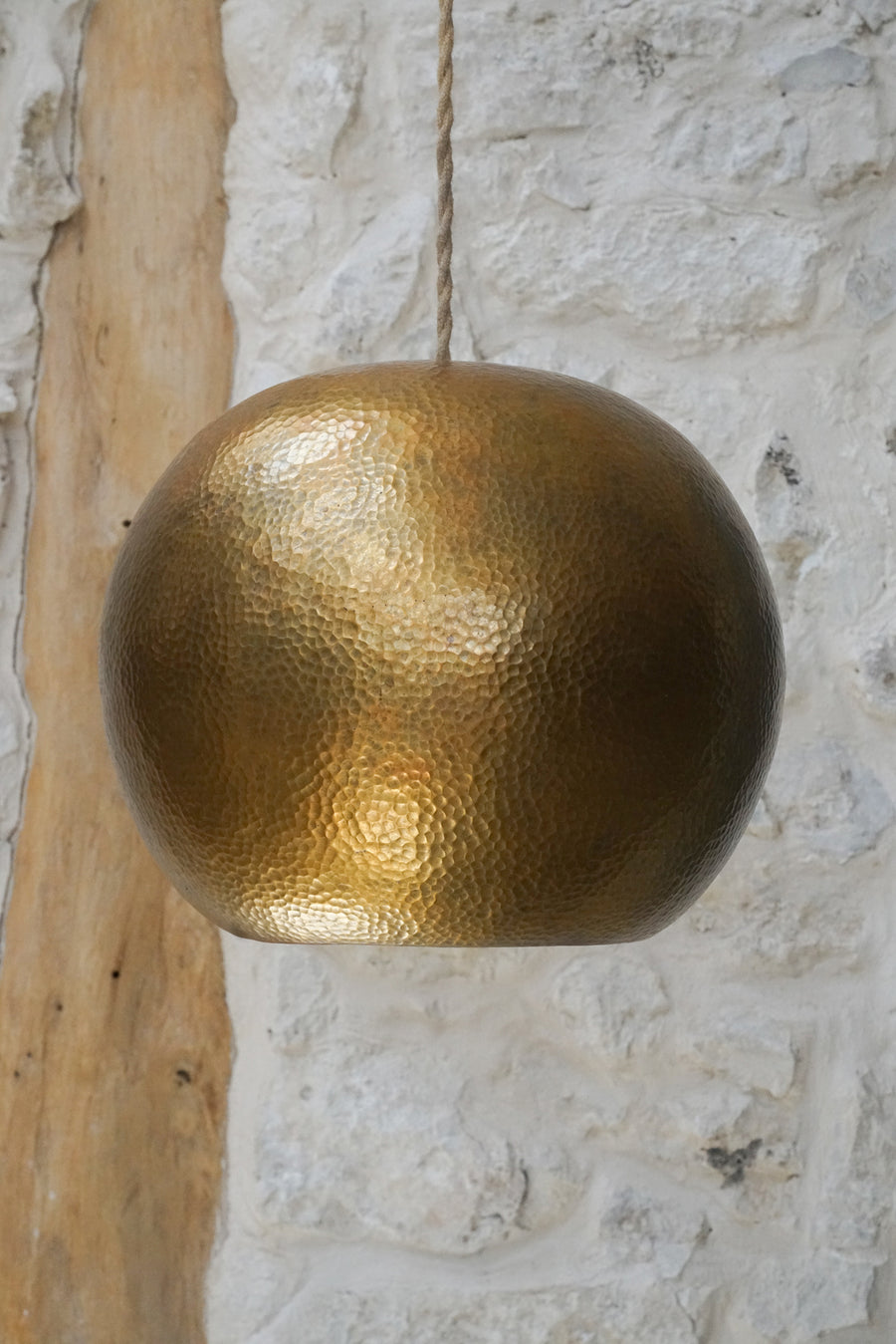 GOLDEN COPPER LAMP