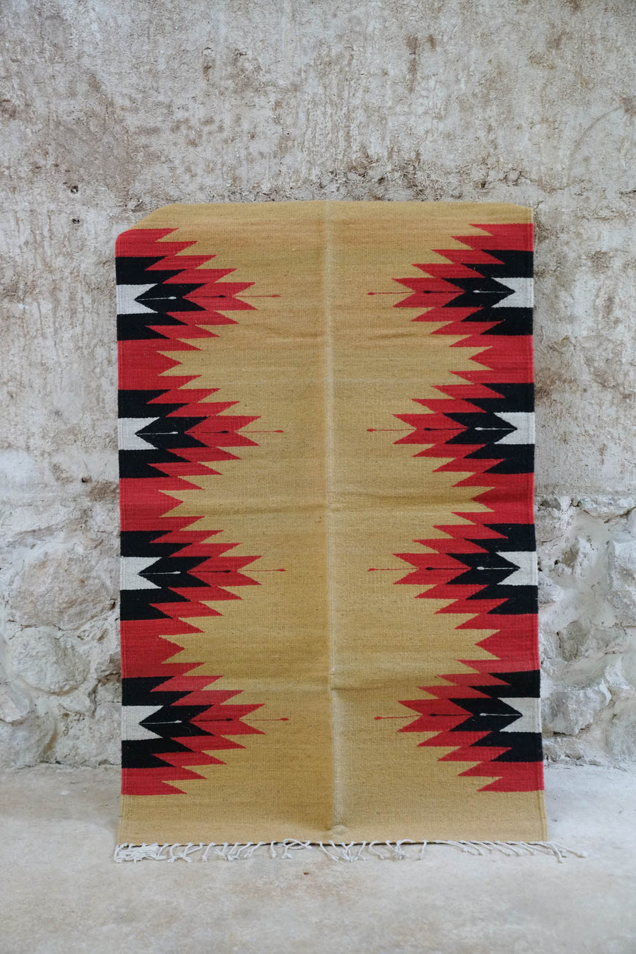 BEAK ZAPOTECA WORLD BY HAND DESING CARPET (2x3 FT)